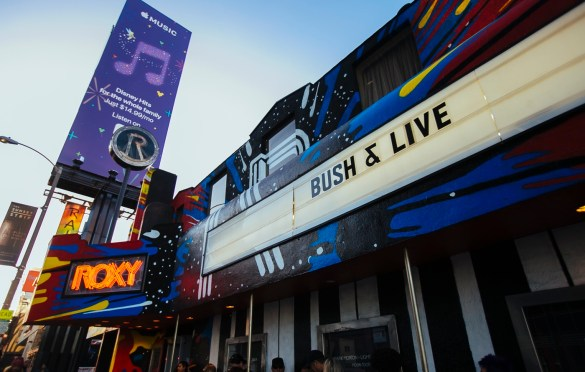 Bush & Live @ The Roxy 3/12/19. Photo courtesy of MSO PR. Used with permission.