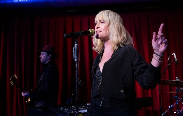 Metric @ KCRW'S Apogee Sessions 3/8/19. Photo by Larry Hirshowitz. Courtesy of KCRW. Used with permission.
