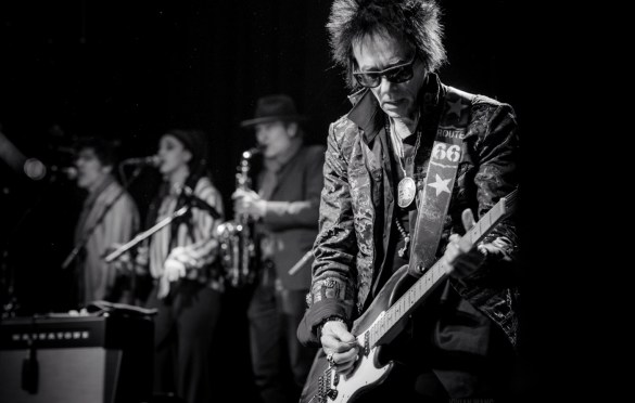 Earl Slick for A Bowie Celebration @ Irving Plaza 3/5/19. Photo by Vivian Wang (@Lithophyte) for www.BlurredCulture.com.
