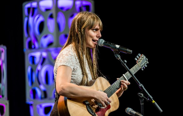 Silvina Moreno @ Austin Convention Center for SXSW 3/12/19. Photo by Derrick K. Lee, Esq. (@Methodman13) for www.BlurredCulture.com.