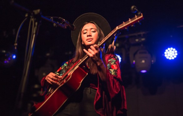 Raye Zaragoza @ Moroccan Lounge 3/23/19. Photo by Derrick K. Lee, Esq. (@Methodman13) for www.BlurredCulture.com.