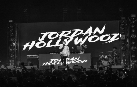Jordan Hollywood @ The Wellmont Theater 4/9/19. Photo by Dan Goloborodko (@golo_lifestyle) for www.BlurredCulture.com.