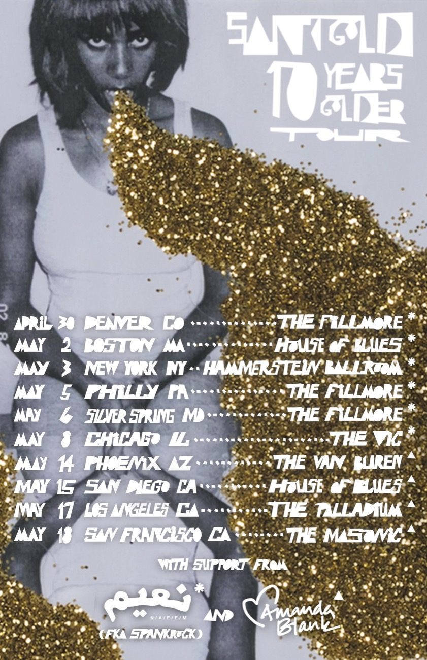 Santifold- Tour Flyer