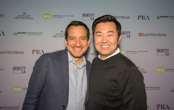 David Ryu & Anthony Rendon for Identity LA: A Night Celebrating Asian American Pacific Islander Women @ Ford Theatres 5/11/19. Photo by Derrick K. Lee, Esq (@Methodman13) for www.BlurredCulture.com.