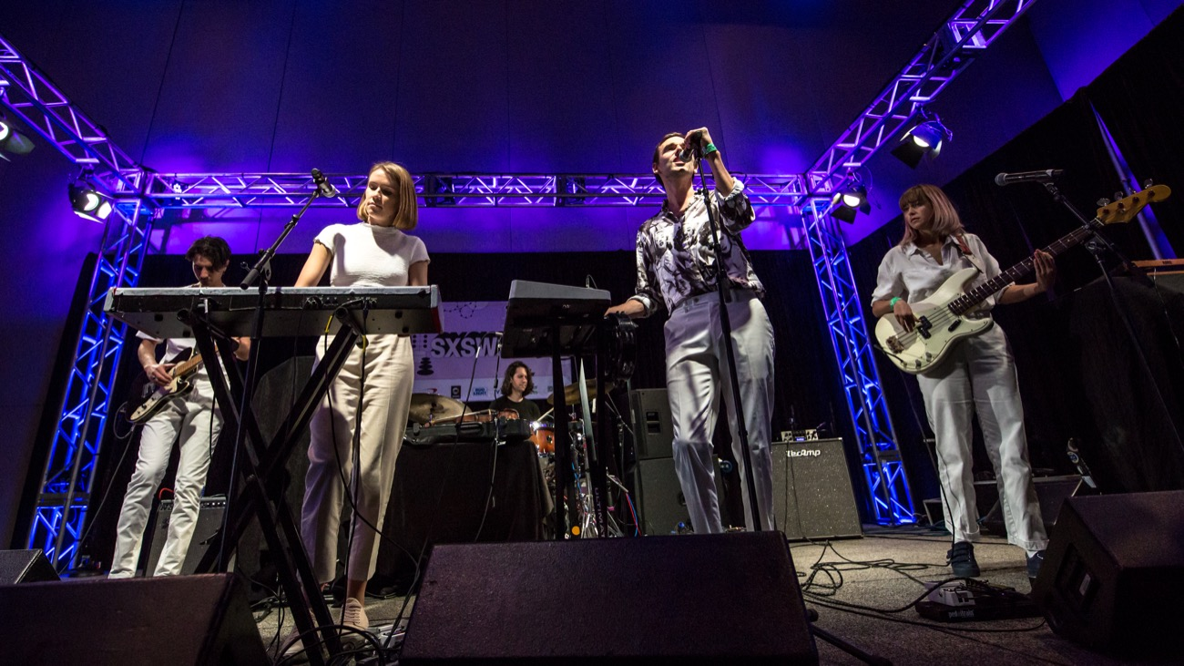 I Know Leopard @ Austin Convention Center for SXSW 3/15/19. Photo by Derrick K. Lee, Esq (@Methodman13) for www.BlurredCulture.com.