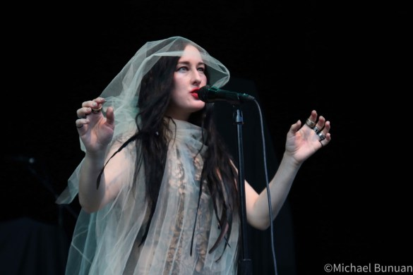 Zola Jesus @ Greek Theatre 6/15/19. Photo by Michael Bunuan. (@Michael_Bunuan_Photogrpahy) for www.BlurredCulture.com.
