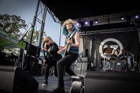 L7 @ The Bash Festival (Englishtown, NJ) 6/2/19. Photo by Pat Gilrane Photo (@njpatg) for www.BlurredCulture.com.