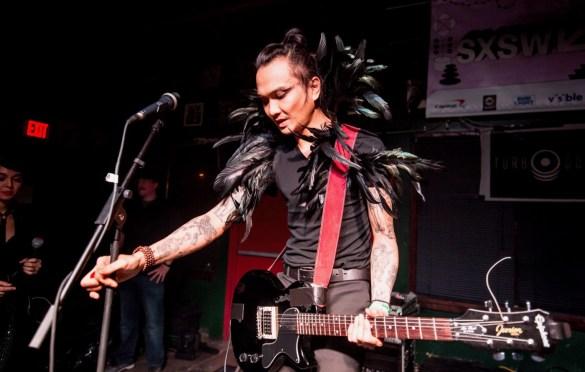Turbo Goth at SXSW @ Valhalla 3/11/19. Photo by Derrick K. Lee, Esq. (@Methodman13) for www.BlurredCulture.com.