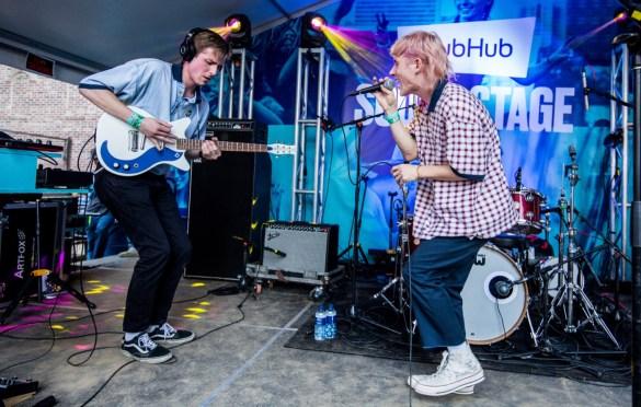 Dreamer Boy for StubHub Soundstage at SXSW @ Banger's 3/13/19. Photo by Derrick K. Lee, Esq. (@Methodman13) for www.BlurredCulture.com.