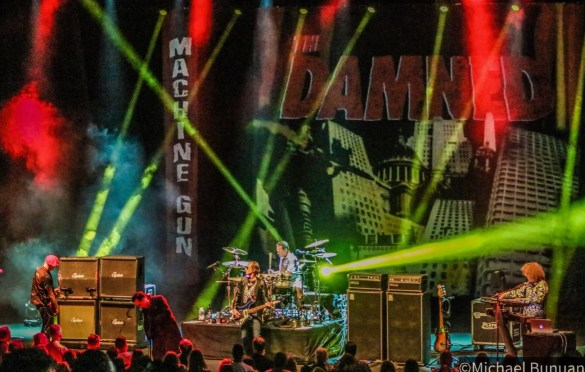 The Damned @ Pacific Amphitheater 7/6/19. Photo by Michael Bunuan. (@Michael_Bunuan_Photogrpahy) for www.BlurredCulture.com.