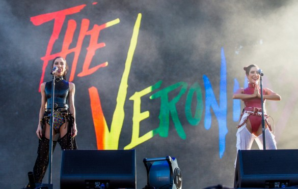 The Veronicas @ LA! Pride 6/9/19. Photo by Derrick K. Lee, Esq. (@Methodman13) for www.BlurredCulture.com.