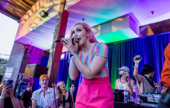 Flavia & Devmo @ LA! Pride 6/9/19. Photo by Derrick K. Lee, Esq. (@Methodman13) for www.BlurredCulture.com.