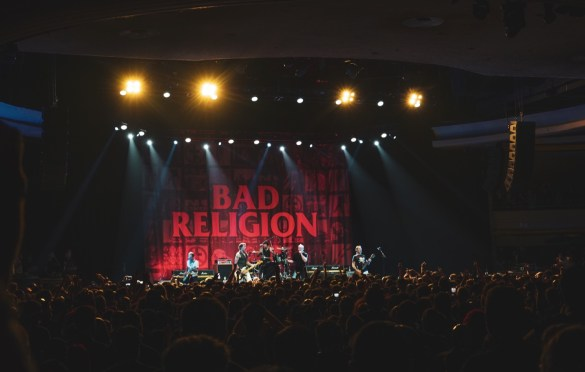 Bad Religion @ Hollywood Palladium 8/17/19. Photo by Betsy Martinez (@BetsyMartinezPhotography) for www.BlurredCulture.com.