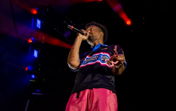 EarthGang @ Shrine Expo Hall 7/10/19. Photo by Derrick K. Lee, Esq. (@Methodman13) for www.BlurredCulture.com.