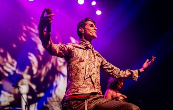 Perry Farrell, Above Ground @ Fonda Theatre 9/16/19. Photo by Derrick K. Lee, Esq. (@Methodman13) for www.BlurredCulture.com.