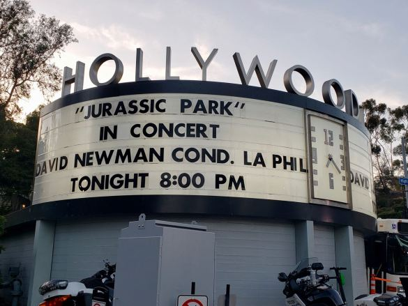 """Jurassic Park -- in Concert"" @ Hollywood Bowl 8/17/19. Photo by Level With Music (@LevelWithMusic) for www.BlurredCulture.com."
