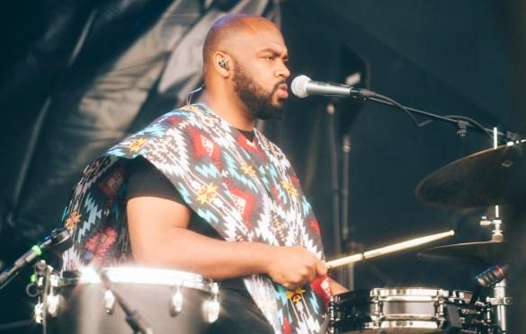 Khruangbin @ Pitchfork Music Festival 7/21/19. Photo by Aubrey Wipfli (@aubreyy) for www.BlurredCulture.com.