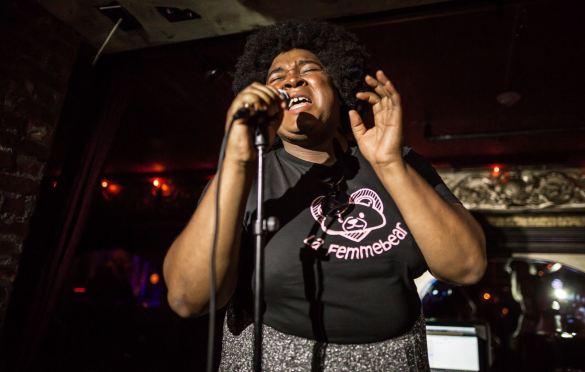Lafemmebear @ Madame Siam 6/8/19. Photo by Derrick K. Lee, Esq. (@Methodman13) for www.BlurredCulture.com.