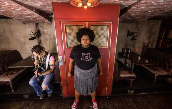 Lafemmebear (Portrait) @ Madame Siam 6/8/19. Photo by Derrick K. Lee, Esq. (@Methodman13) for www.BlurredCulture.com.