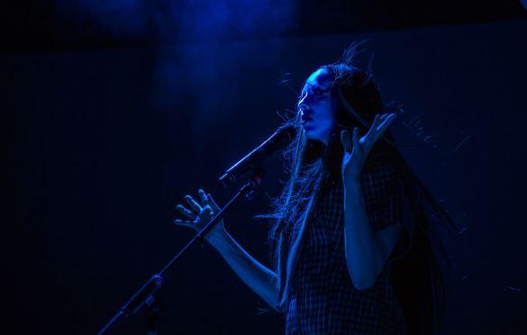Allie X @ Greek Theatre 10/4/19. Photo by Derrick K. Lee, Esq. (@Methodman13) for www.BlurredCulture.com.