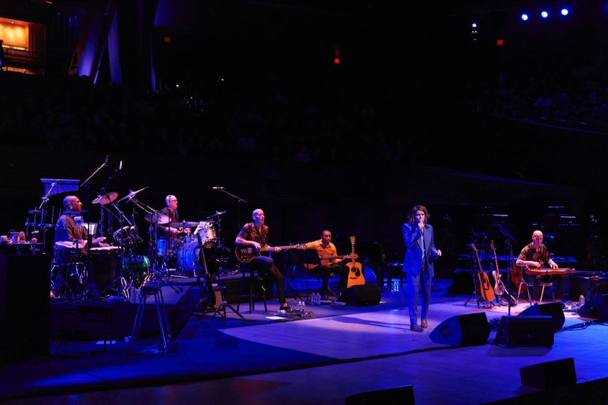 Brandi Carlile @ Walt Disney Concert Hall 10/14/19. Photo by Danny Clinch (@DannyBones64). Courtesy of the artist. Used with permission.