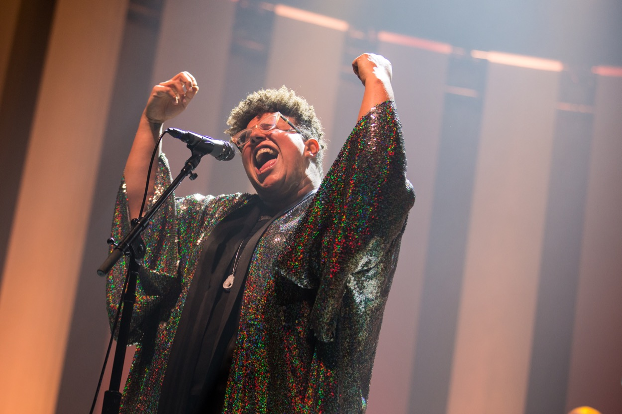 Brittany Howard @ The Theatre At Ace Hotel 10/9/19. Photo by Sonya Singh (@Sonyacansingh) for www.BlurredCulture.com.