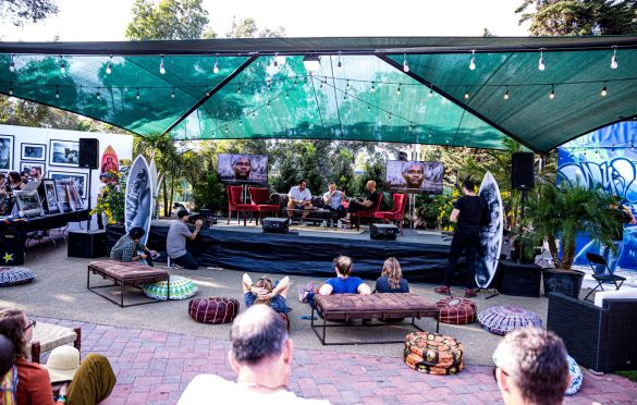 Atmosphere @ The Ohana Fest 9/27/19. Photo by Derrick K. Lee, Esq. (@Methodman13) for www.BlurredCulture.com.