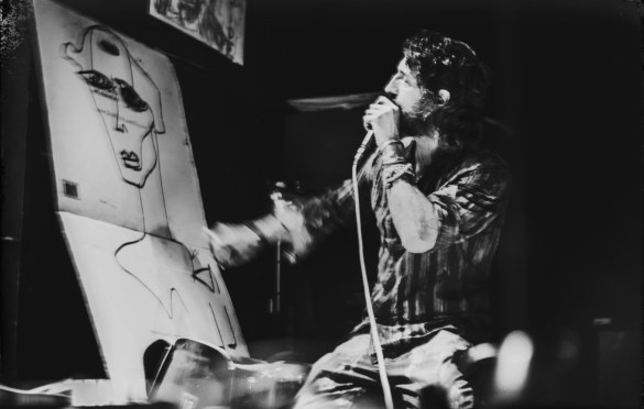 Joseph Arthur @ Rough Trade 10/26/19. Photo by Vivian Wang (@Lithophyte) for www.BlurredCulture.com.