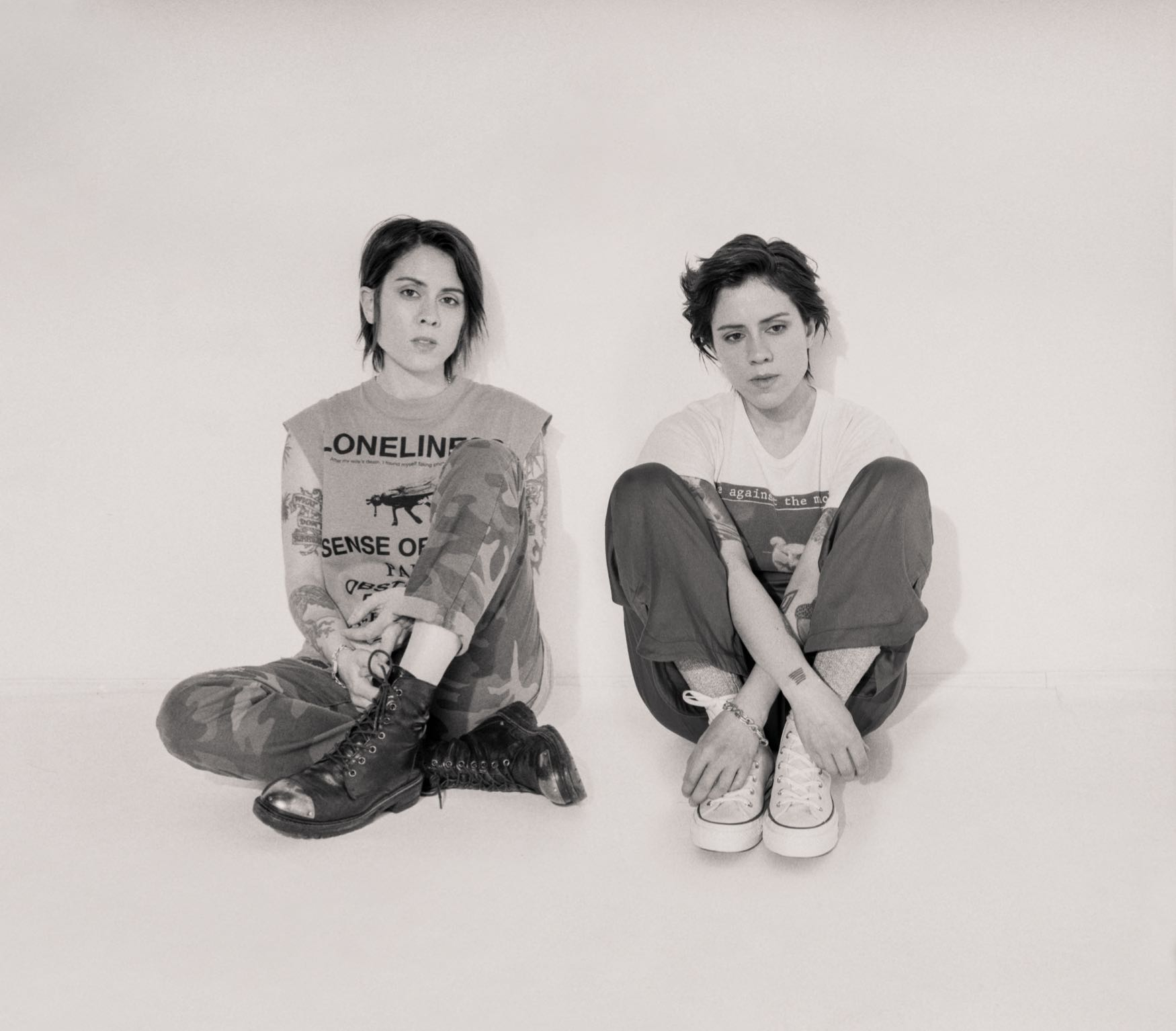 Tegan and Sara. Photo by Trevor Brady. Courtesy of Warner Records. Used with permission.