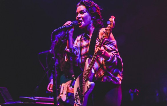 Meg Myers @ The Wiltern 10/9/19. Photo by Betsy Martinez (@BetsyMartinezPhotography) for www.BlurredCulture.com.
