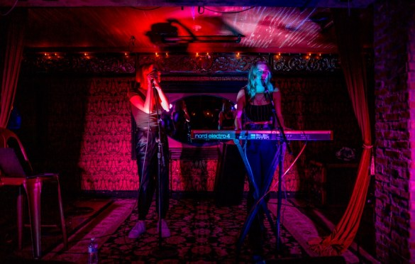 KTJ & CARLY @ Madame Siam 10/19/19. Photo by Derrick K. Lee, Esq. (@Methodman13) for www.BlurredCulture.com.