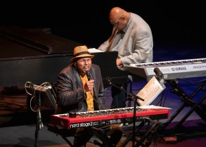 Aaron Neville Duo @ Royce Hall 11/2/19. Photo by Reed Hutchinson for CAP UCLA. Used with permission.