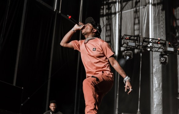 Ski Mask The Slump God @ Day N Vegas 11/3/19. Photo by Ian Zamorano (@ChamoIsDead) for www.BlurredCulture.com.