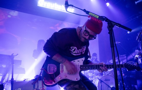 Portugal. The Man @ Troubadour 10/11/19. Photo by Steph Velastegui (@Stephtonesphoto) for www.BlurredCulture.com.