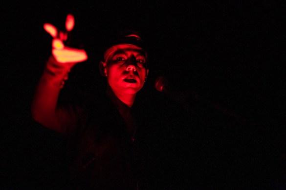 Crook @ The Echo 11/25/19. Photo by Derrick K. Lee, Esq. (@Methodman13) for www.BlurredCulture.com.