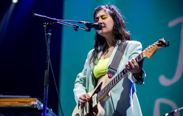 Japanese Breakfast @ Intersect Music Festival 12/7/19. Photo by Derrick K. Lee, Esq. (@Methodman13) for www.BlurredCulture.com.