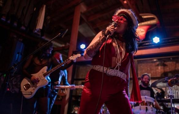 Taleen Kali @ The House Of Machines 12/21/19. Photo by Derrick K. Lee, Esq. (@Methodman13) for www.BlurredCulture.com.