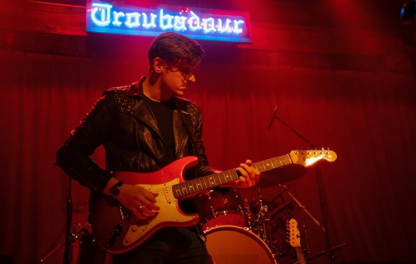 Patrick Droney @ The Troubadour 2/27/20. Photo by @ZB_Images for www.BlurredCulture.com.