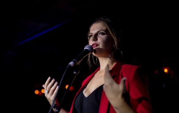 Anna Dellaria @ Madame Siam 10/5/19. Photo by Derrick K. Lee, Esq. (@Methodman13) for www.BlurredCulture.com.