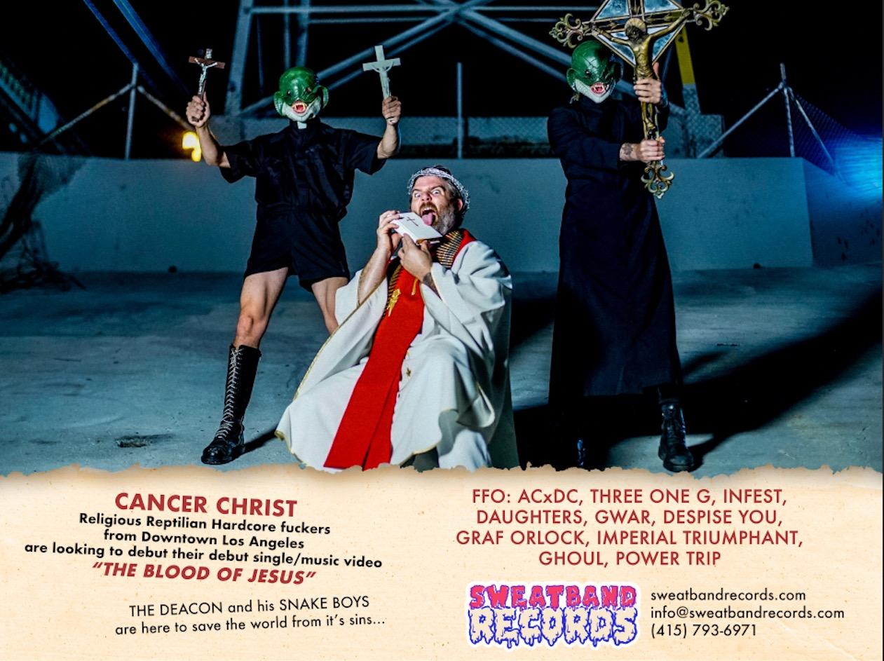 Cancer Christ- Anthony Mehlhaff