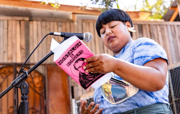 Sonia Guinansaca @ Pirate Studios 6/26/21. Photo by Derrick K. Lee, Esq. (@Methodman13) for www.BlurredCulture.com.