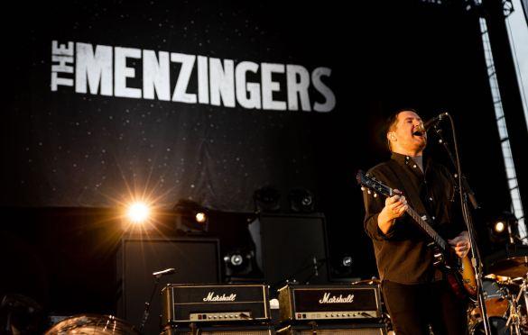 The Menzingers at FivePoint Amphitheatre 8/21/21. Photo by Derrick K. Lee, Esq. (@Methodman13) for www.BlurredCulture.com.