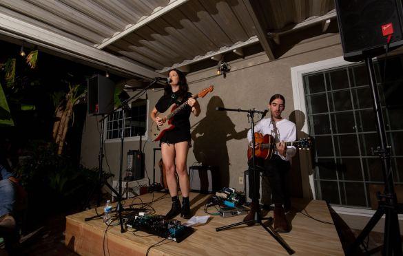 Alicia Blue at LA Music Scene Private Party 8/28/21. Photo by Derrick K. Lee, Esq. (@Methodman13) for www.BlurredCulture.com.