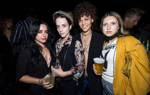Elza Burkart and friends at Andrew Berkeley Martin's Birthday @ The Echo 9/2/21. Photo by Derrick K. Lee, Esq. (@Methodman13) for www.BlurredCulture.com.