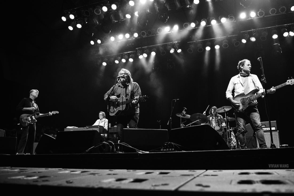 Wilco at Summerfest (Milwaukee) 9/10/21. Photo by Vivian Wang (@lithophyte) for www.BlurredCulture.com.