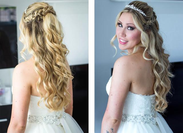 Brautfrisuren Locken Halb Offen Hochzeits Und Frisur Ideen Und