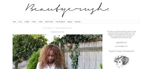 beauty crush