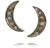 ileana-makri-iam-by-oxidized-silver-diamond-earrings