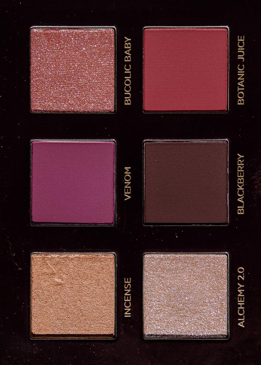 nabla cutie palette #5 wild berry