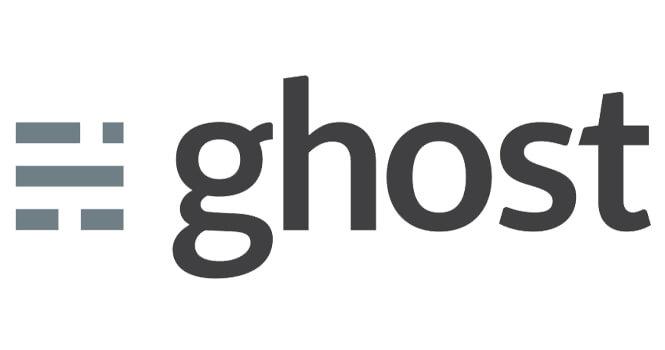 Ghost logo | Blushing Geek